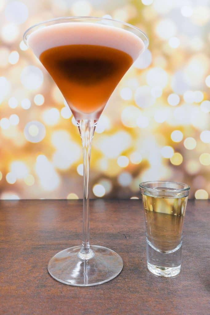 Alcohol free perfect pornstar martini